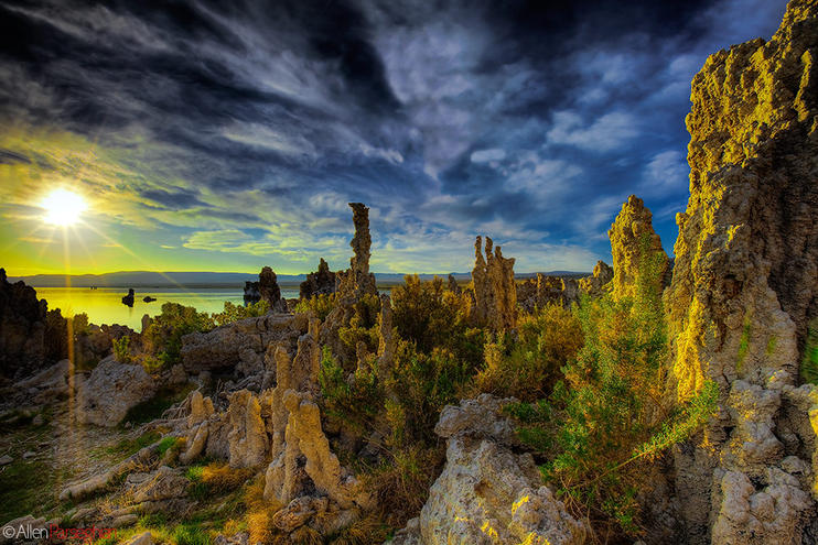 Mono Lake California at Sunrise